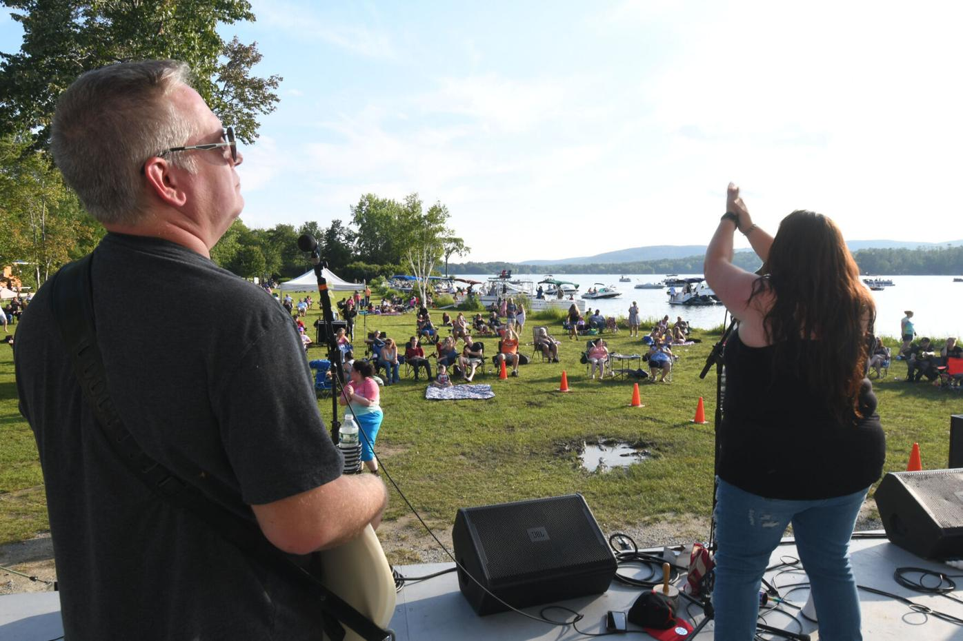 Band performs at Live on Lake