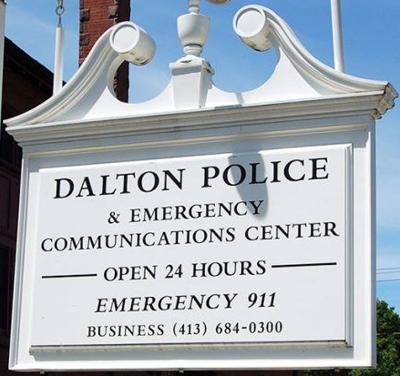 Dalton Police Sign HAYES
