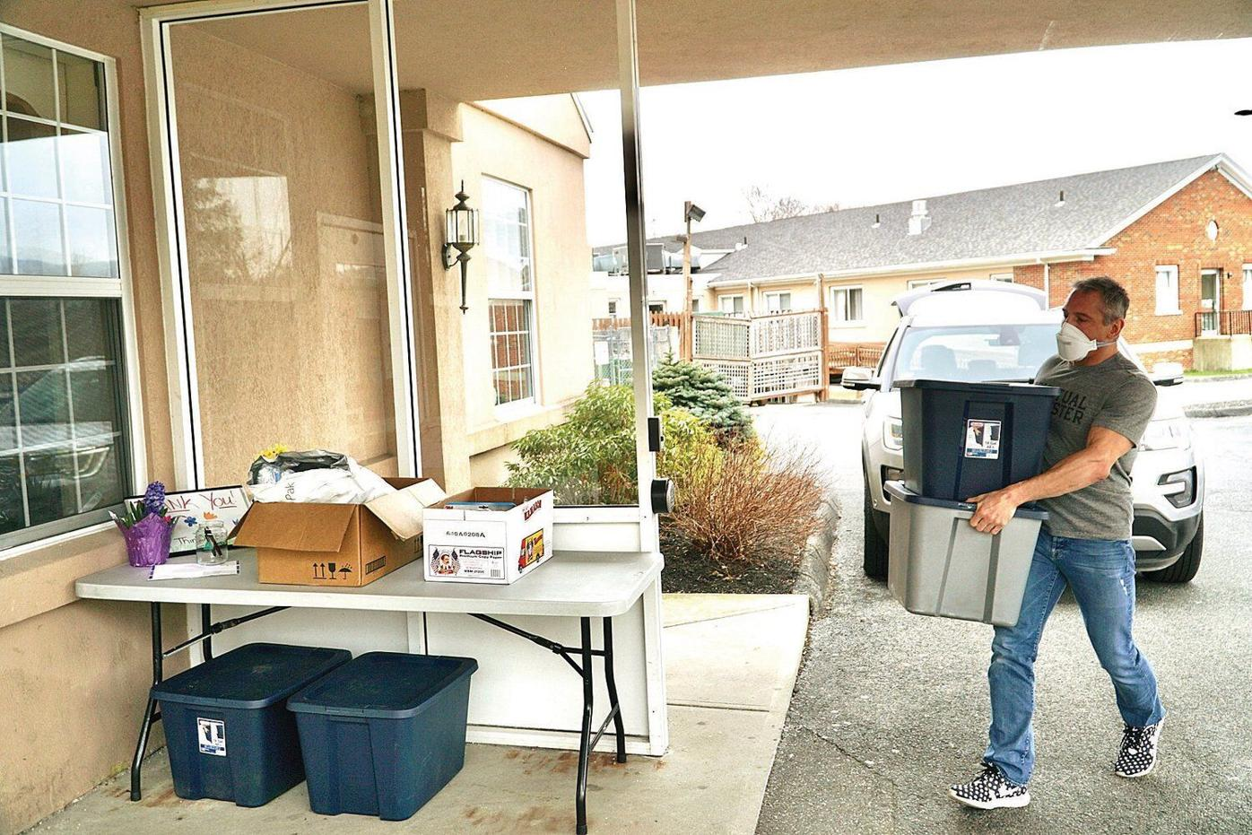 Dalton resident gathers up, delivers supplies in Berkshires amid national shortages