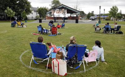 Audience members watch screening of Tanglewood in the City (copy)