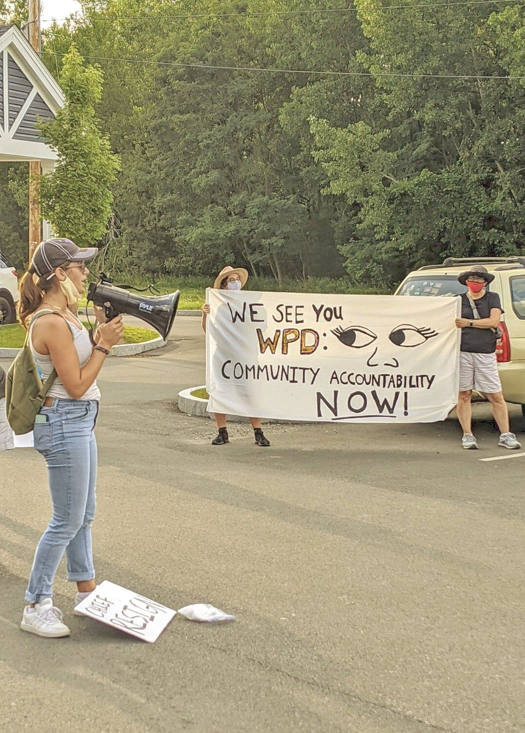 A sign of change? Williamstown protesters call for more police accountability amid allegations