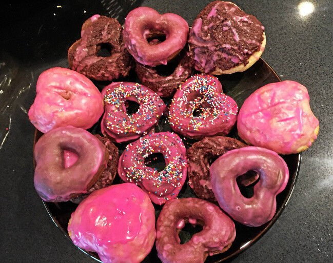 Color of love: All-natural food coloring