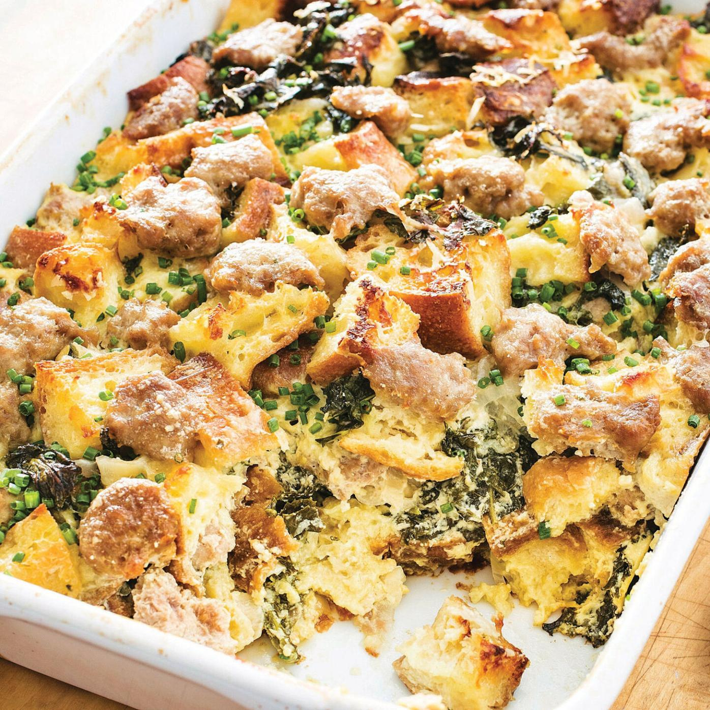 A dish perfect for a relaxed brunch at home