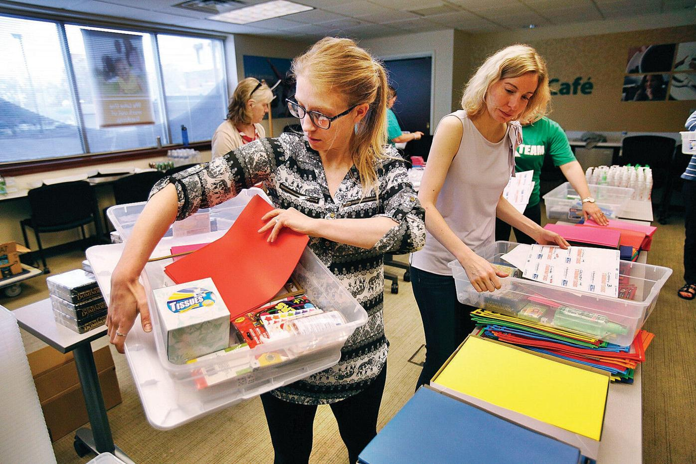 Pittsfield teachers get a helping hand with supplies
