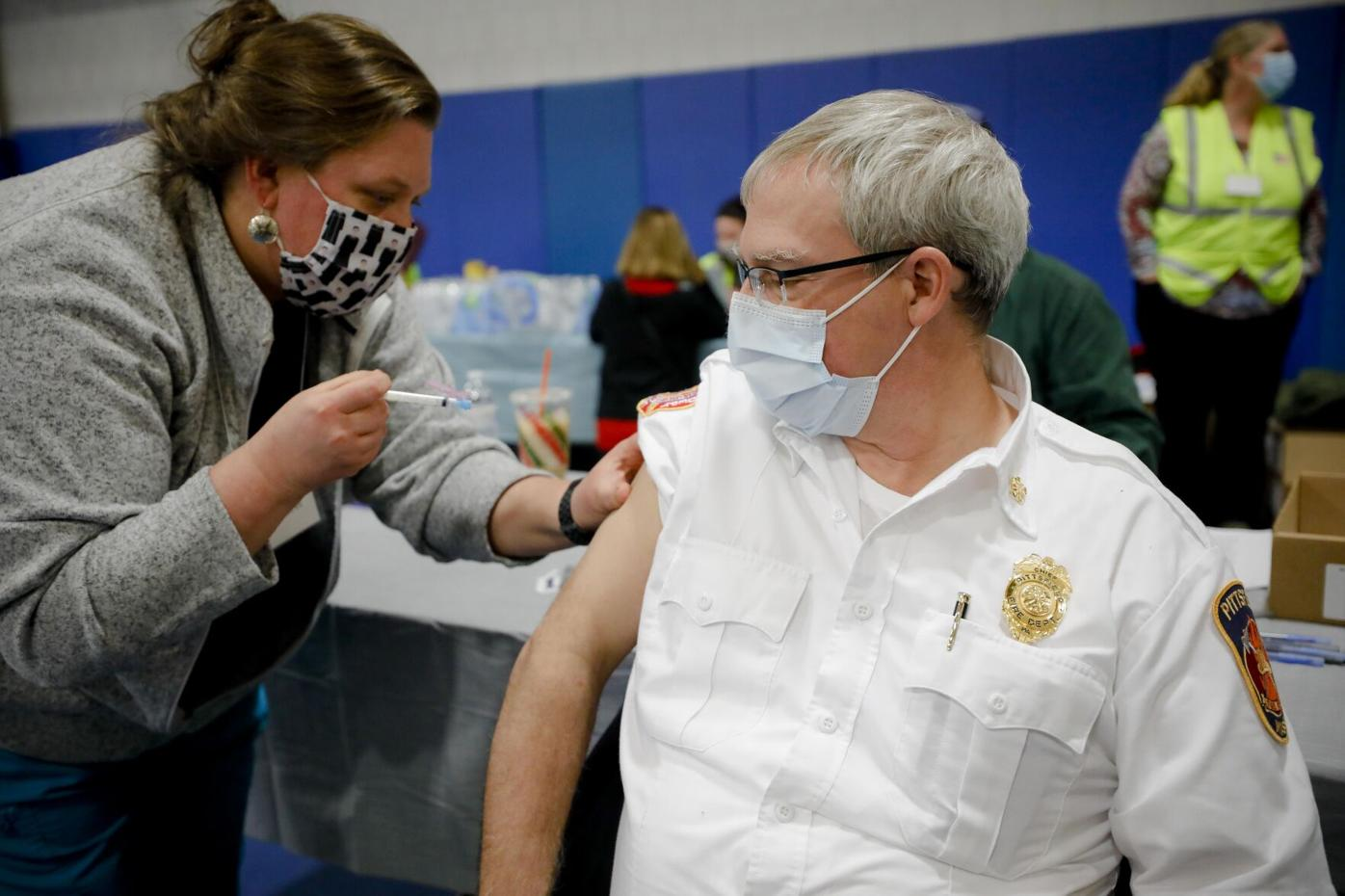 First Responder Vaccines in Pittsfield
