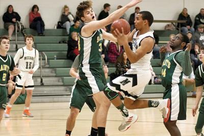 Ziemba, Griswold guide McCann Tech boys basketball by Saint Mary's