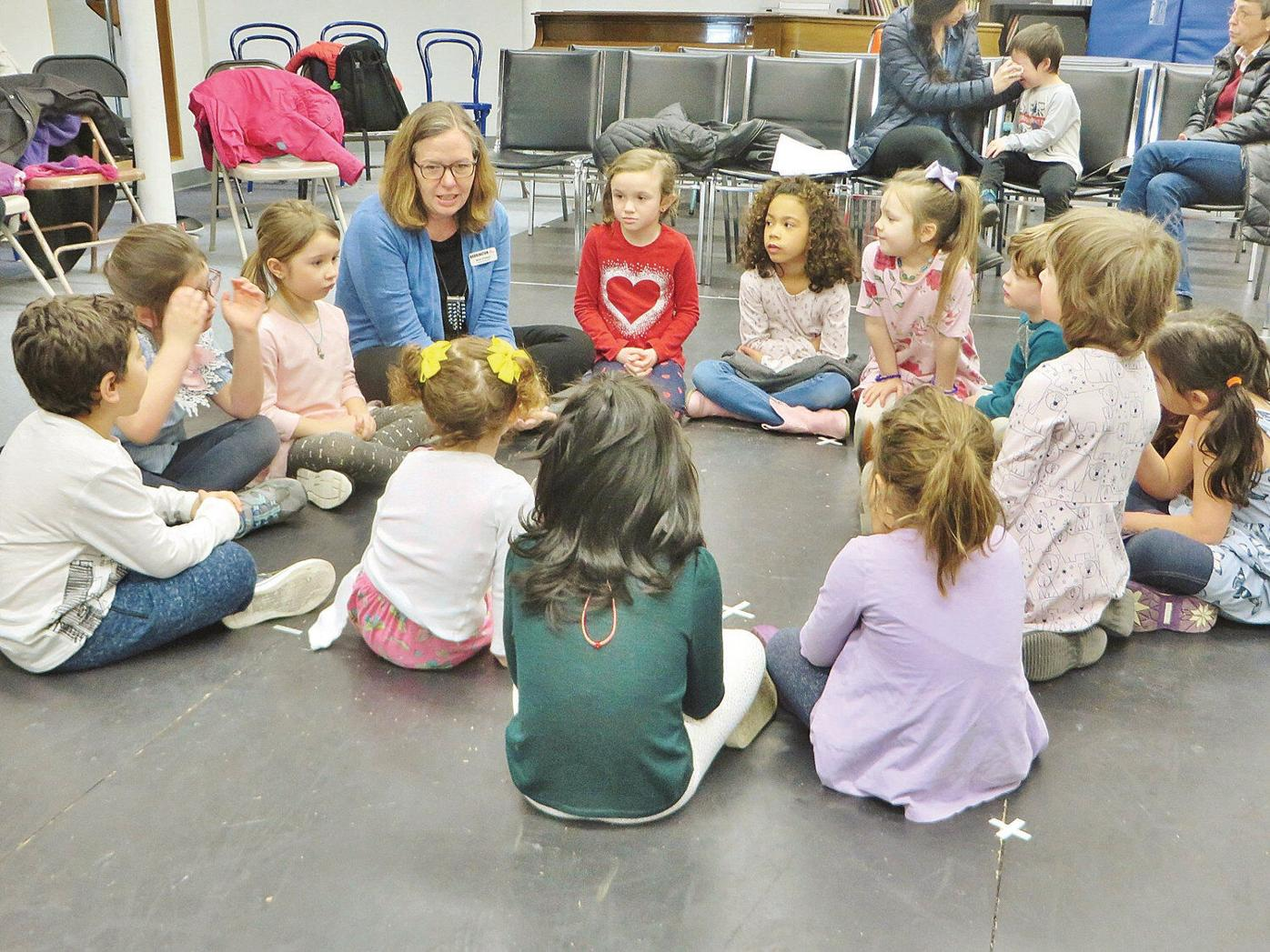 Little 'drama' queens and kings get schooled by theater pros