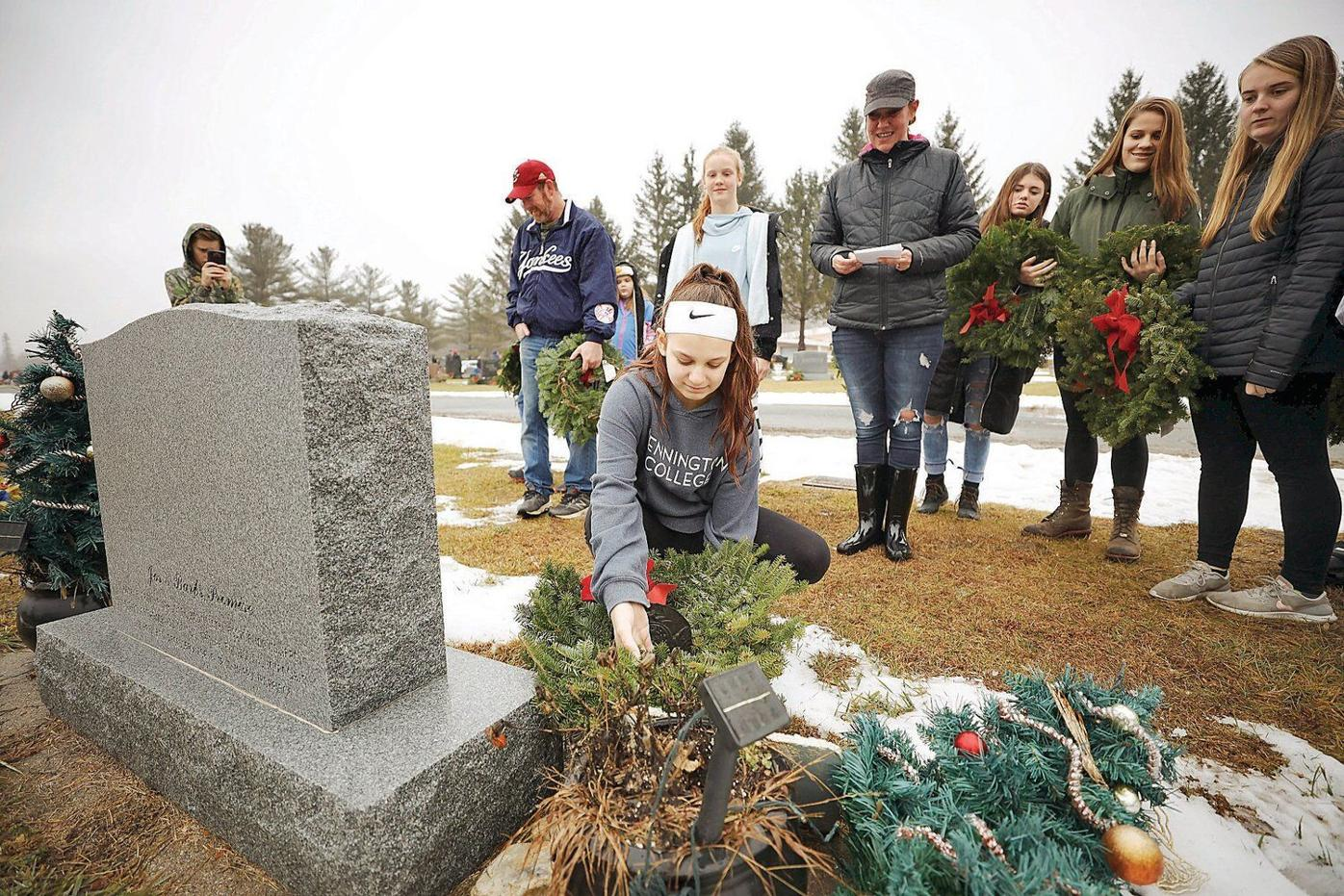 In North Adams, honoring veterans one wreath at a time