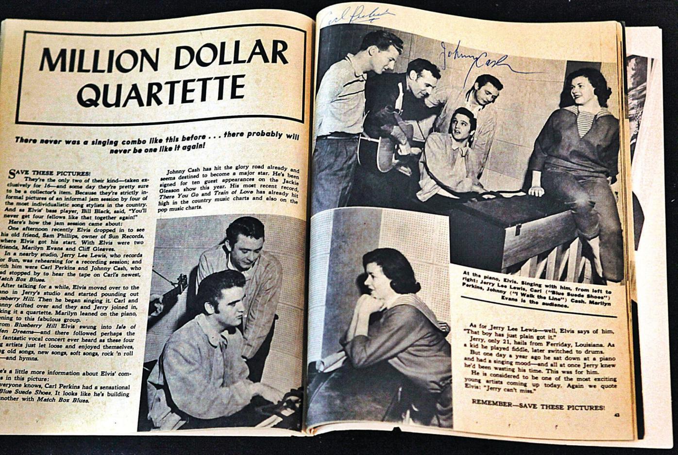The legend behind the Million Dollar Quartet