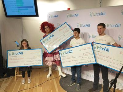 Williams College students take first place at EforAll pitch contest