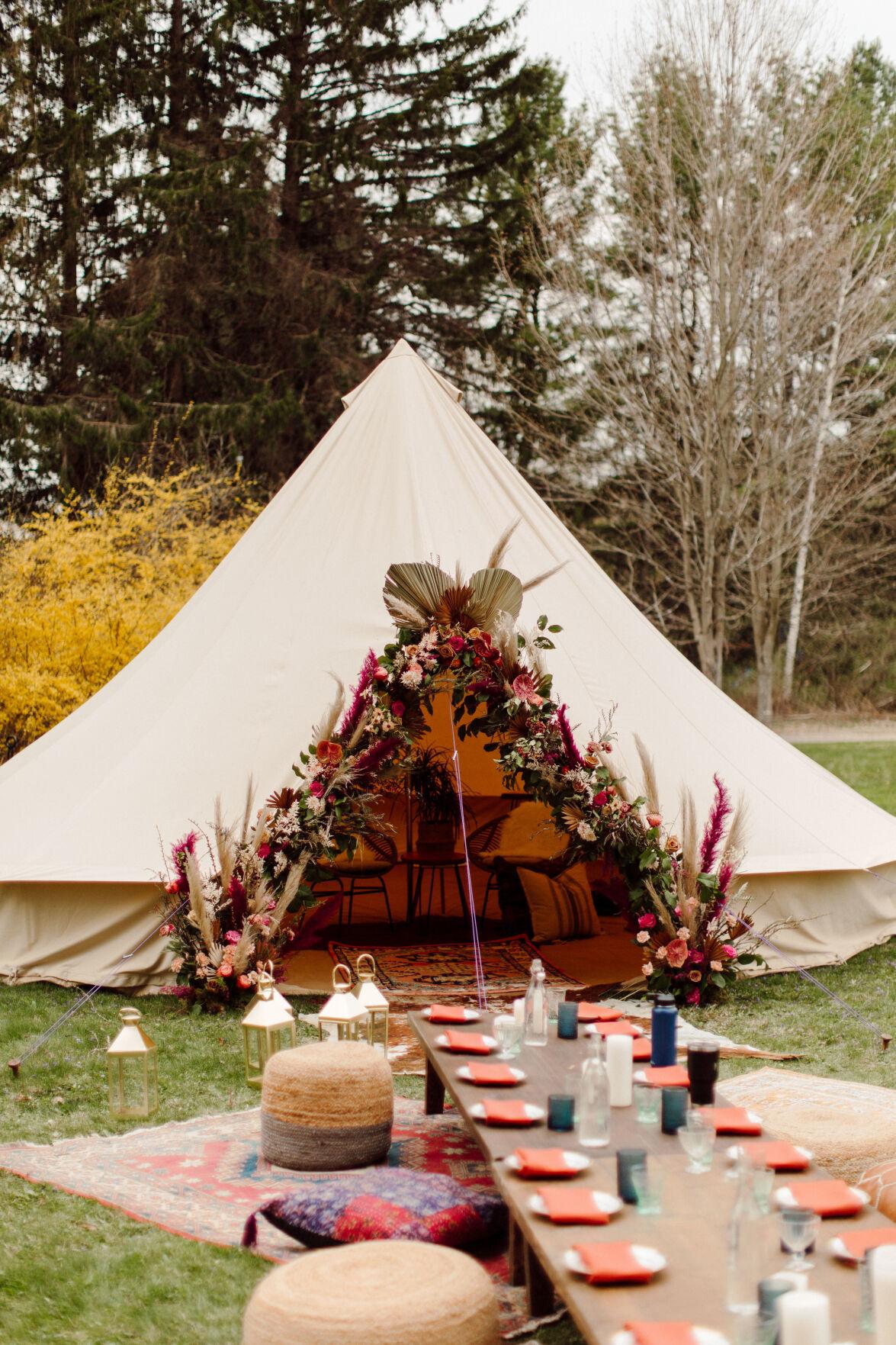 Bell Tent - Elaina Mortali