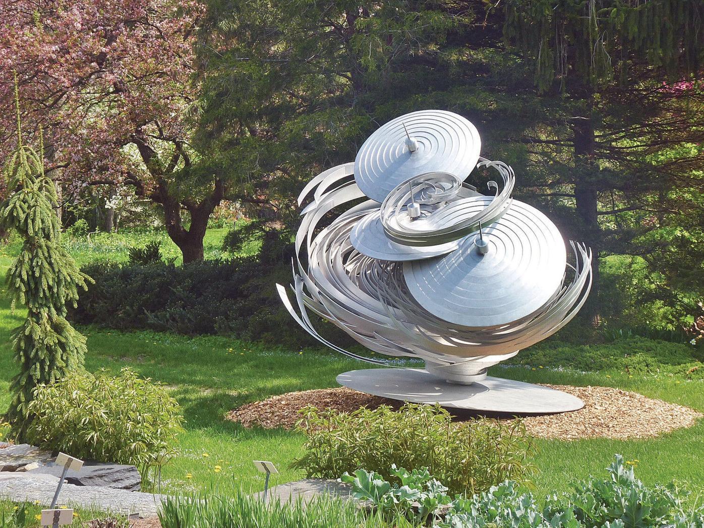 Berkshire Botanical Garden: When metal, art and nature meet