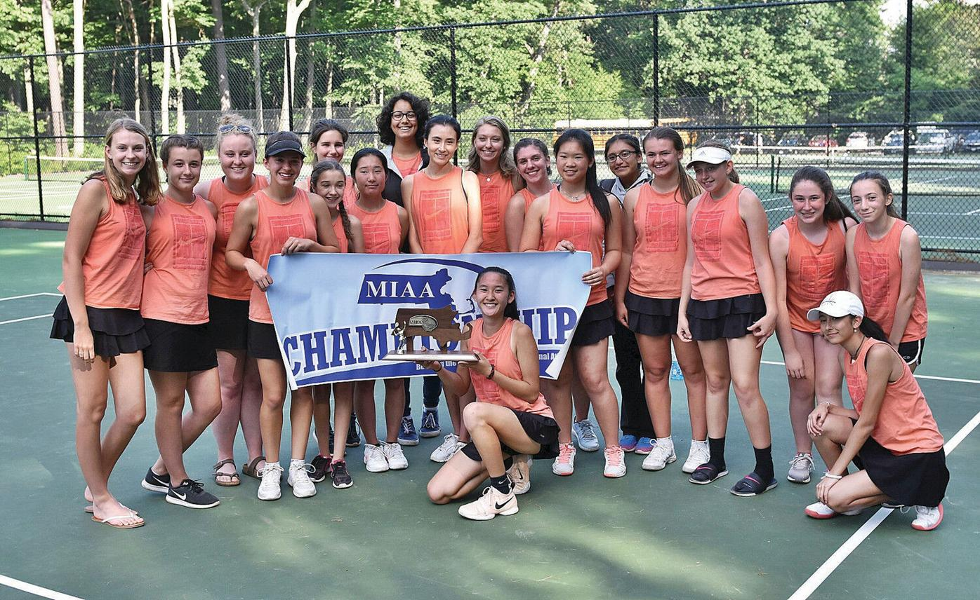 Eyes on the prize: Lee girls tennis team tops South Hadley to win Western Mass. D-III title