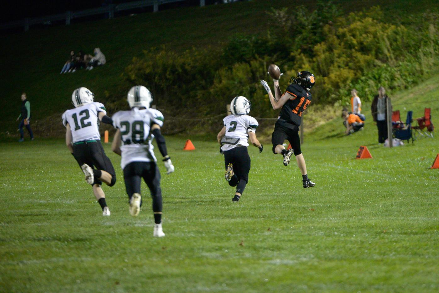 dylan ely catches a pass