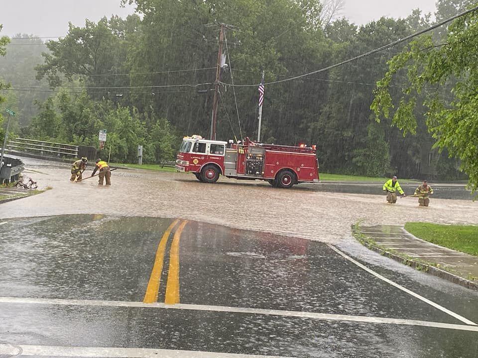 Lenox flooding