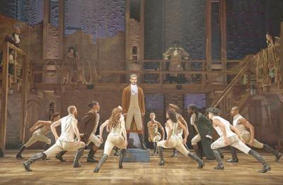 Theater review: Miranda sets a high bar with 'Hamilton'