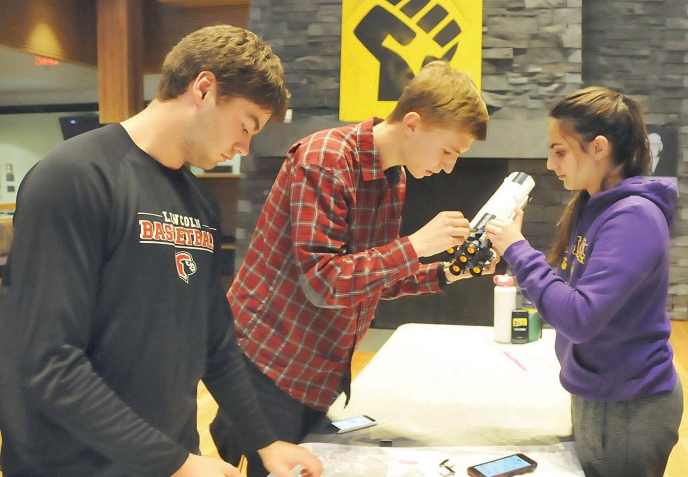 Having a blast(off): College, elementary school teams race to build Lego Saturn V