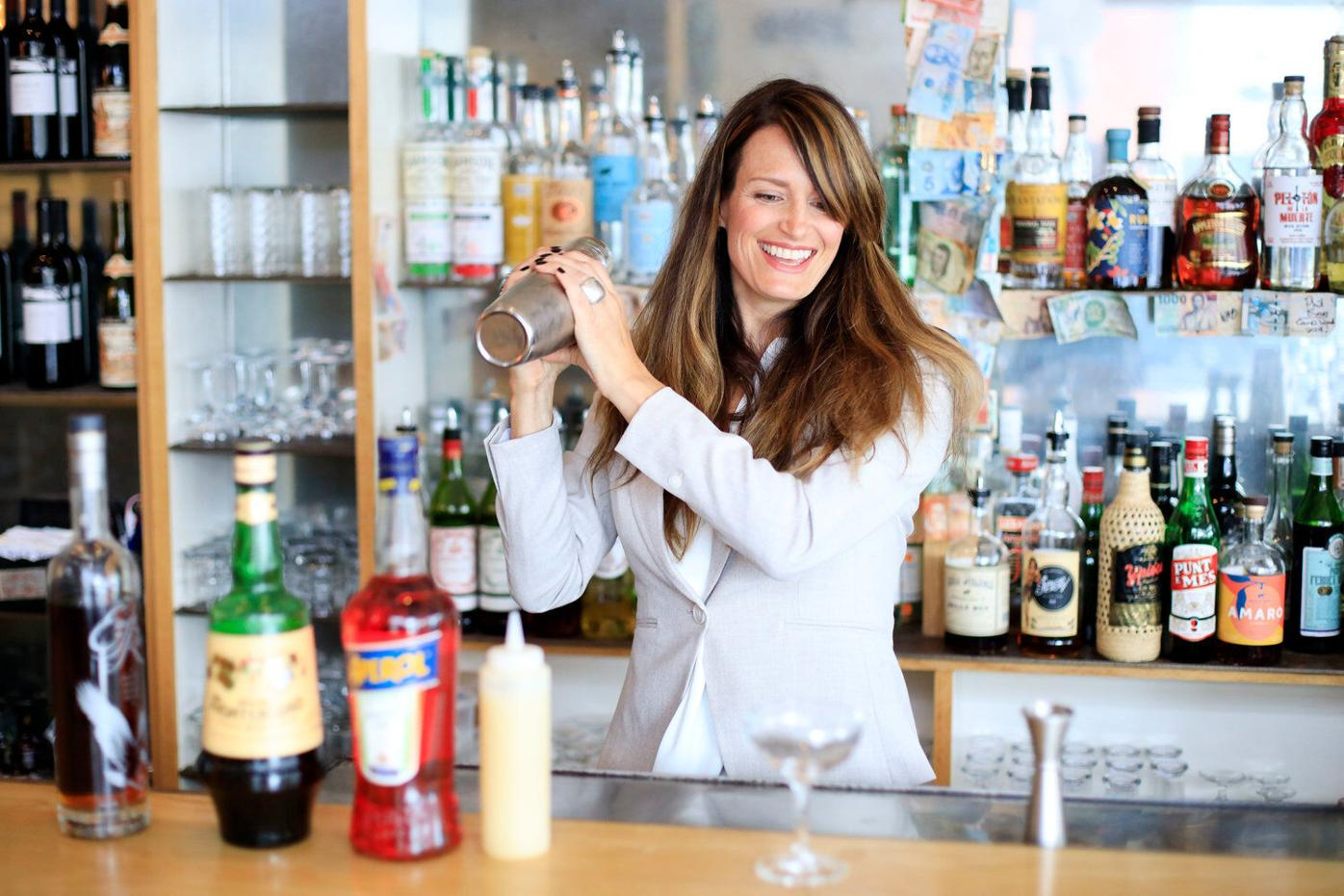Straight Up: Lauren Ferin serves spirits with a side of spirituality