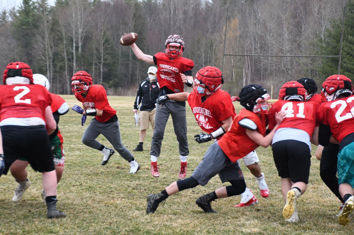 Hoosac Valley Football Practice-1
