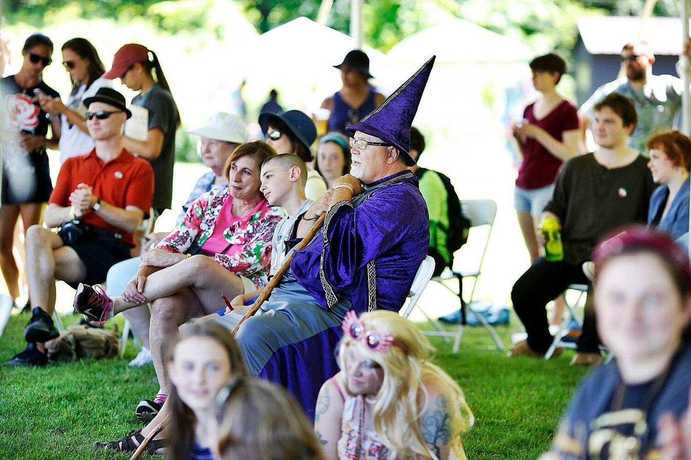 Harry Potter fans find magic at Greylock Glen