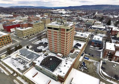 Goodbye, Crowne Plaza; hello Holiday Inn & Suites (eventually) (copy)