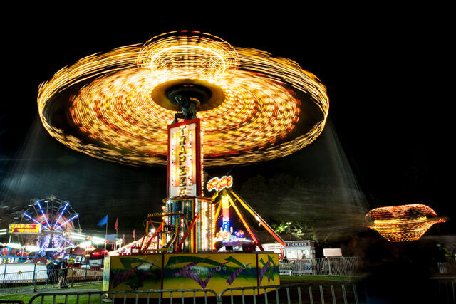 Midway at Columbia County Fair