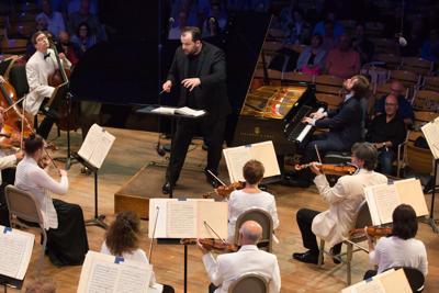 Pianist Daniil Trifonov performs Brahms First Piano Concerto