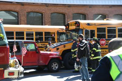 School bus accident in North Adams