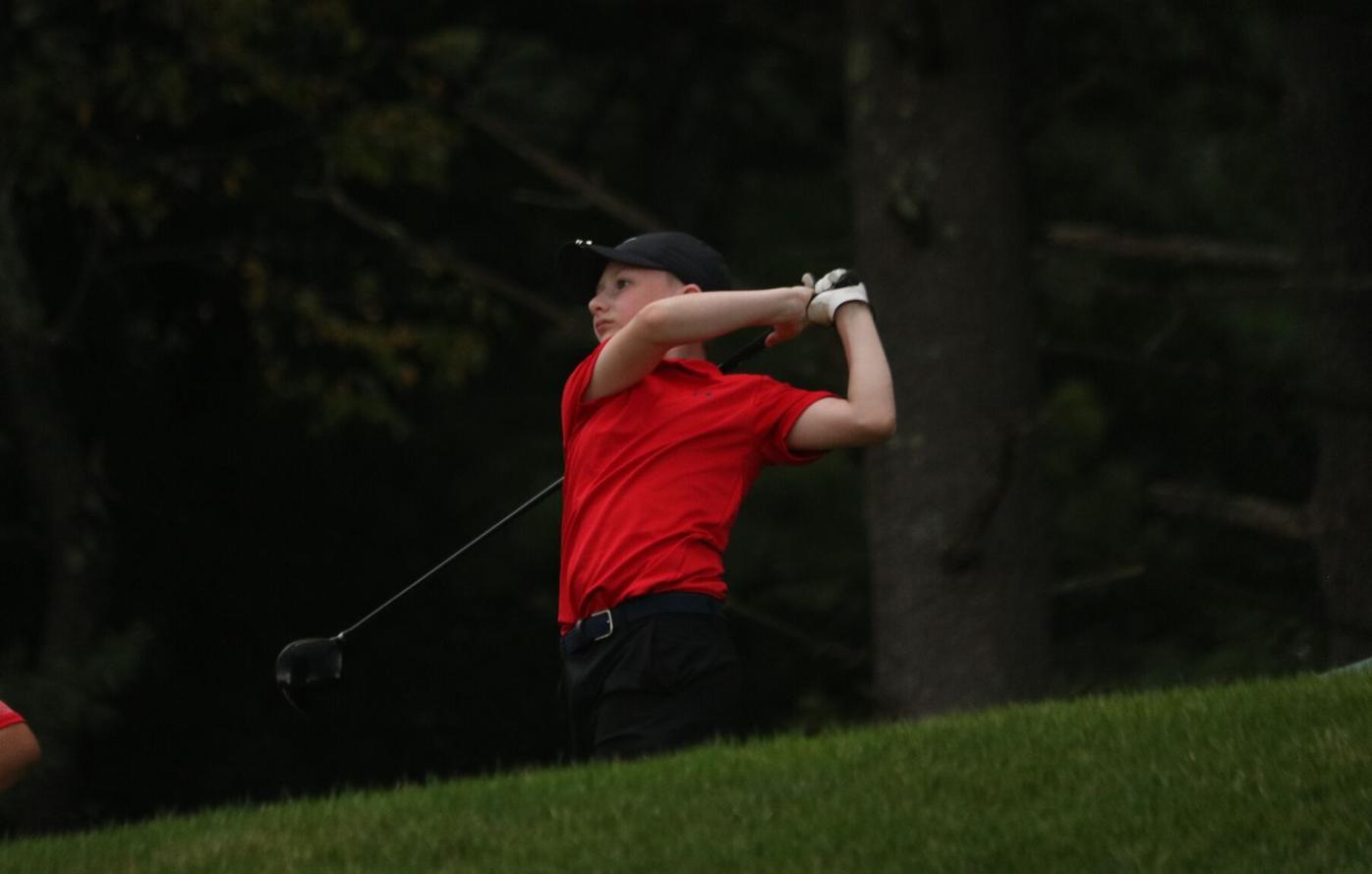 hoosac valley golfer drives