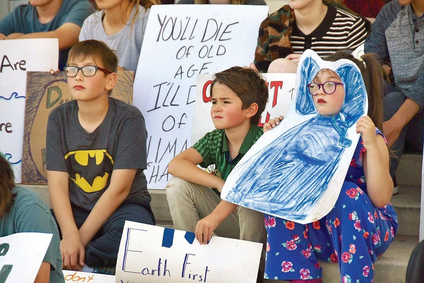 'It's either extinction or action': Across Berkshires, students demand action on climate change