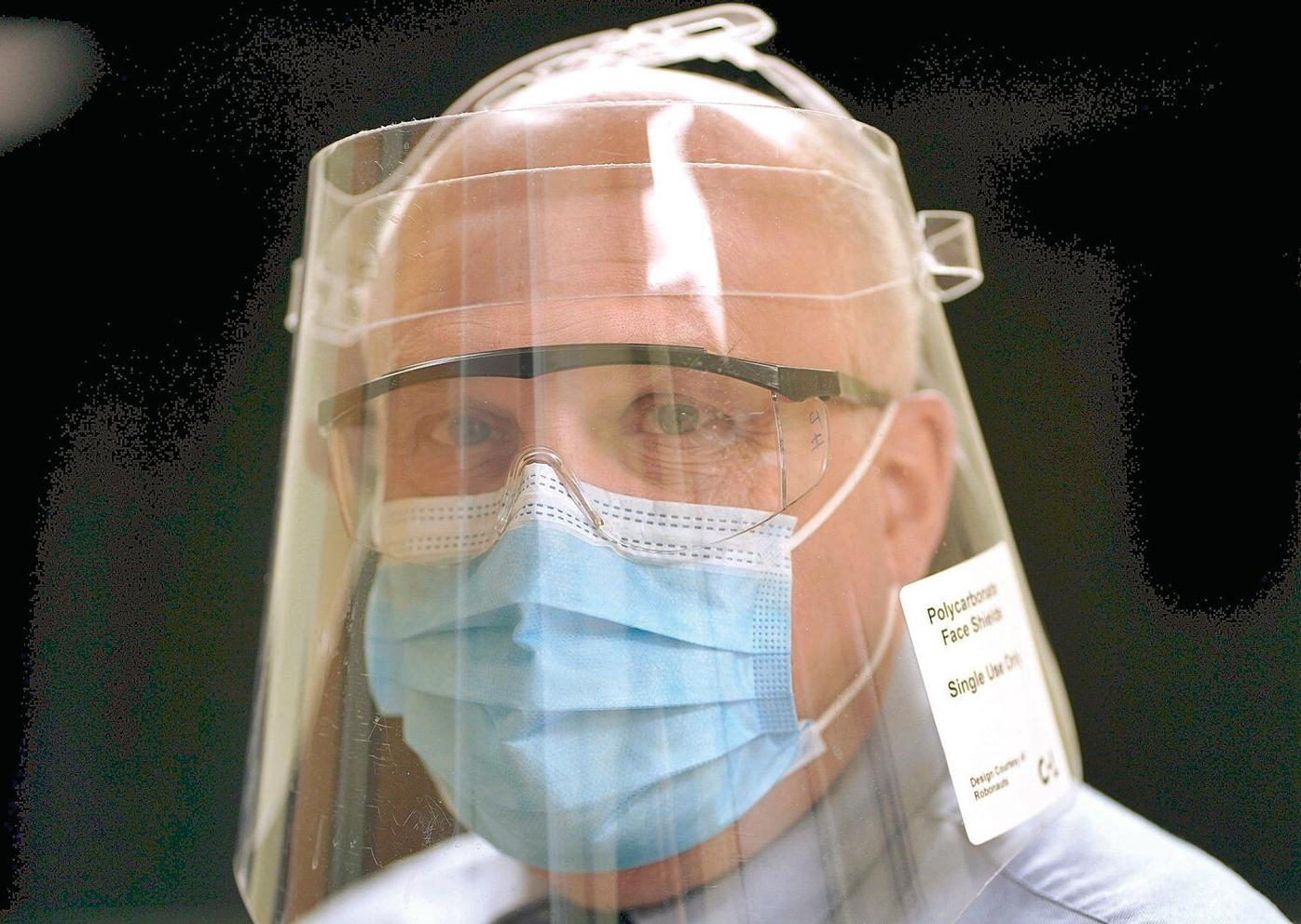Sabic making face shields to protect BMC caregivers from virus