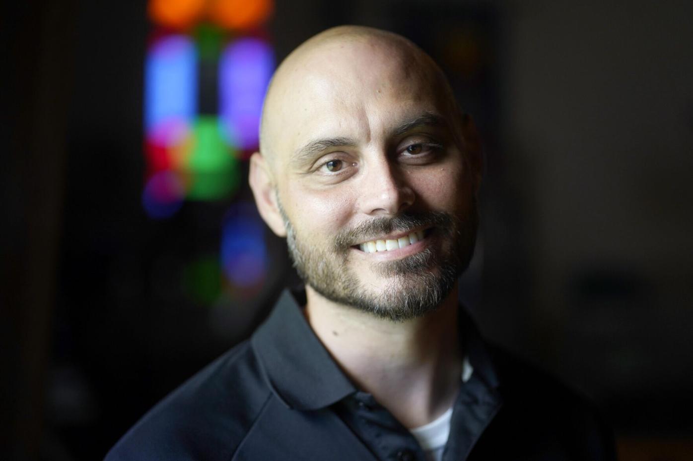 Rev. Adam Ziegler close portrait