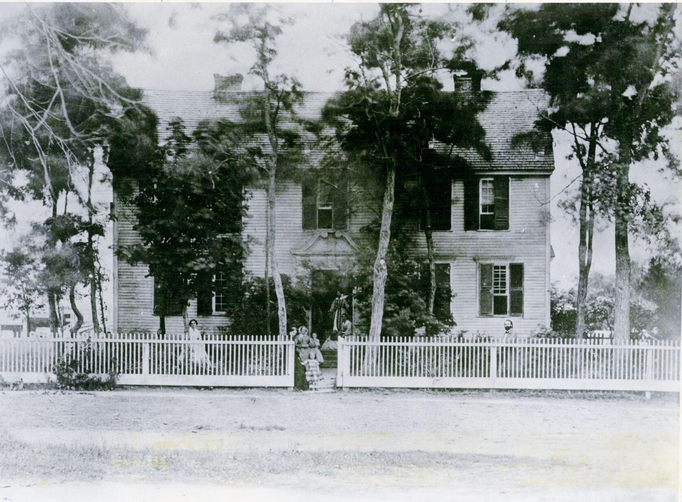 The home of the Rev. Thomas Allen