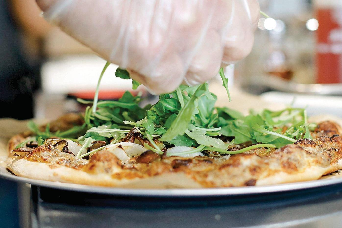 Crust 'on a mission to create the perfect pizza'