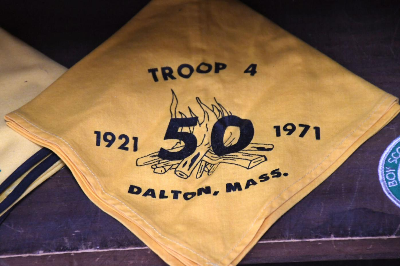 A troop 4 50th anniversary scarf