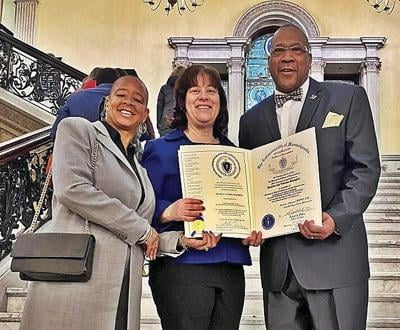 Slaughters honored by statewide black, Latino caucus