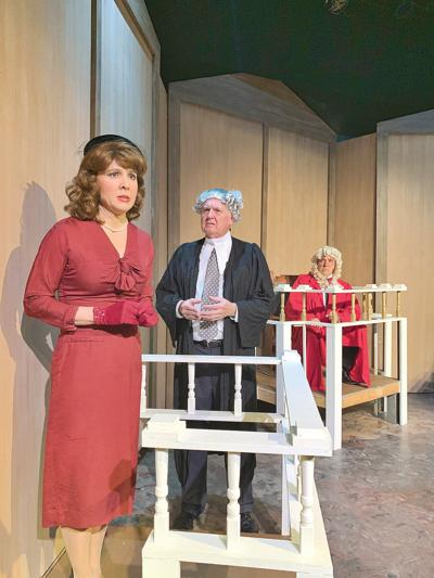 Lumbering 'Witness' at The Theater Barn