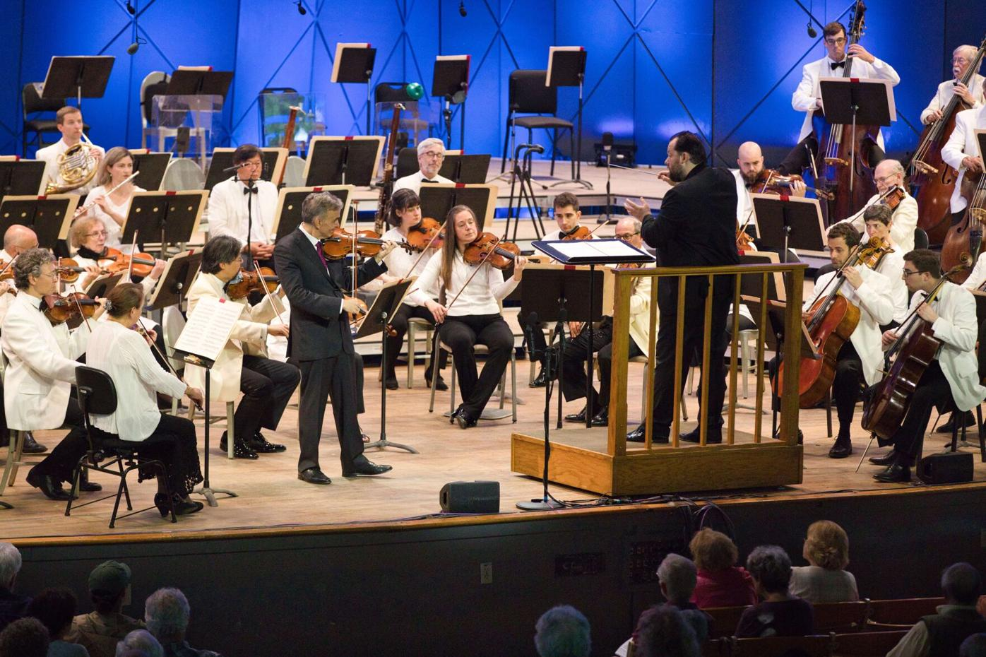 Gil Shaham is soloist with the BSO