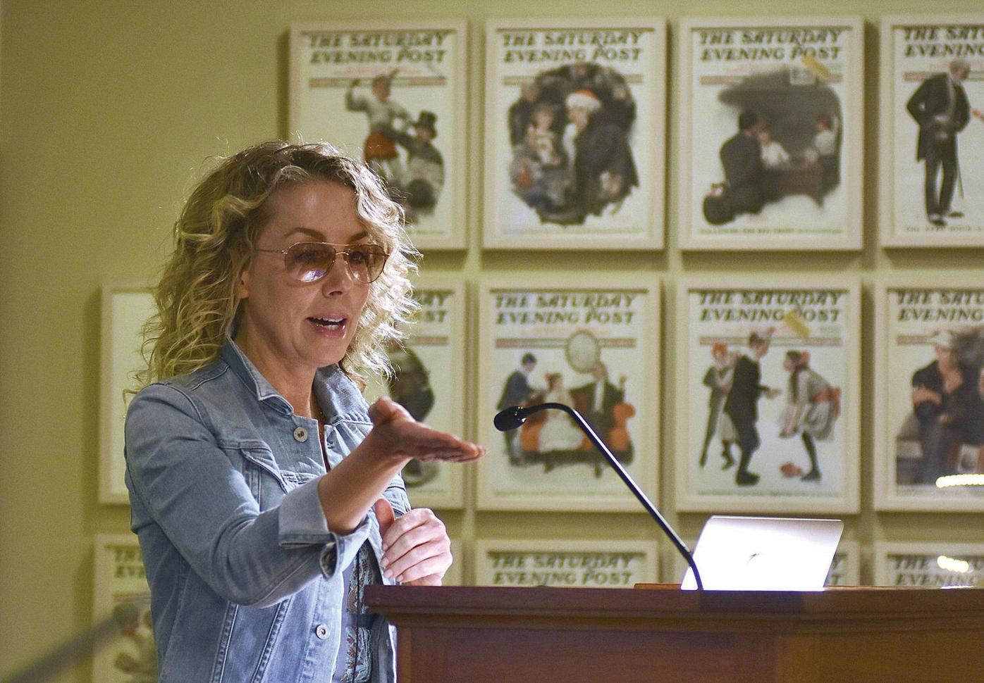 Norman Rockwell's granddaughter talks about researching 'the man behind the hype'