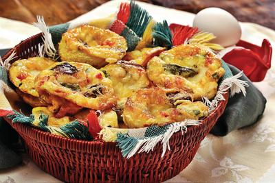 Muffin frittatas are perfect for entertaining, breakfast