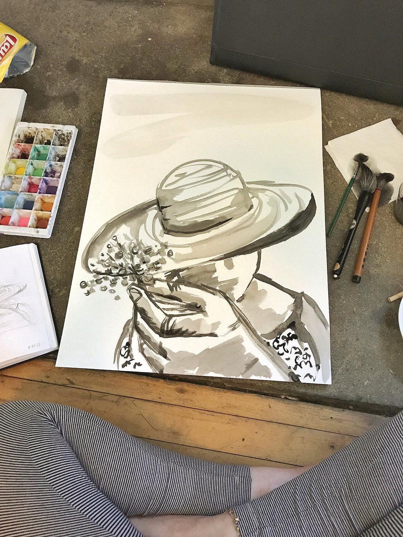 Bascom Lodge's artist-in-residence