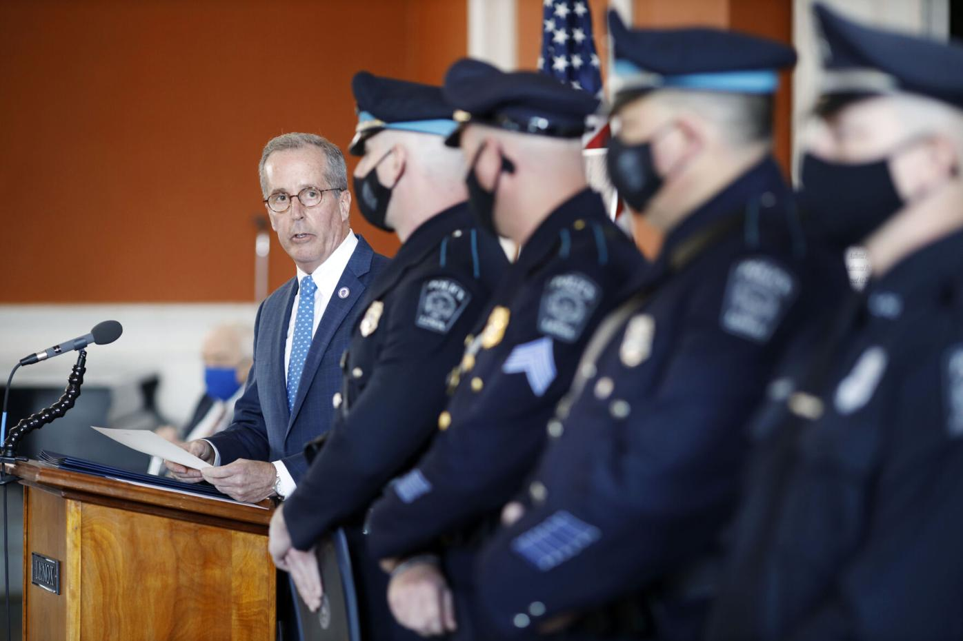 Lenox Police Officers Honored