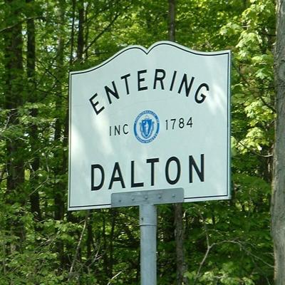 Entering Dalton Sign