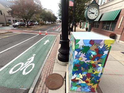 North Street bike lanes