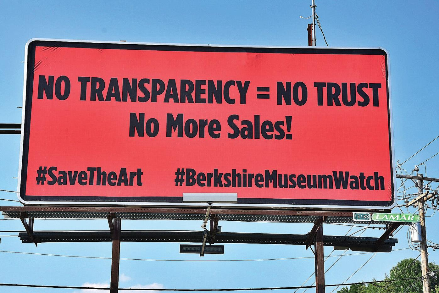 Foes of continued Berkshire Museum art sales ramp up message