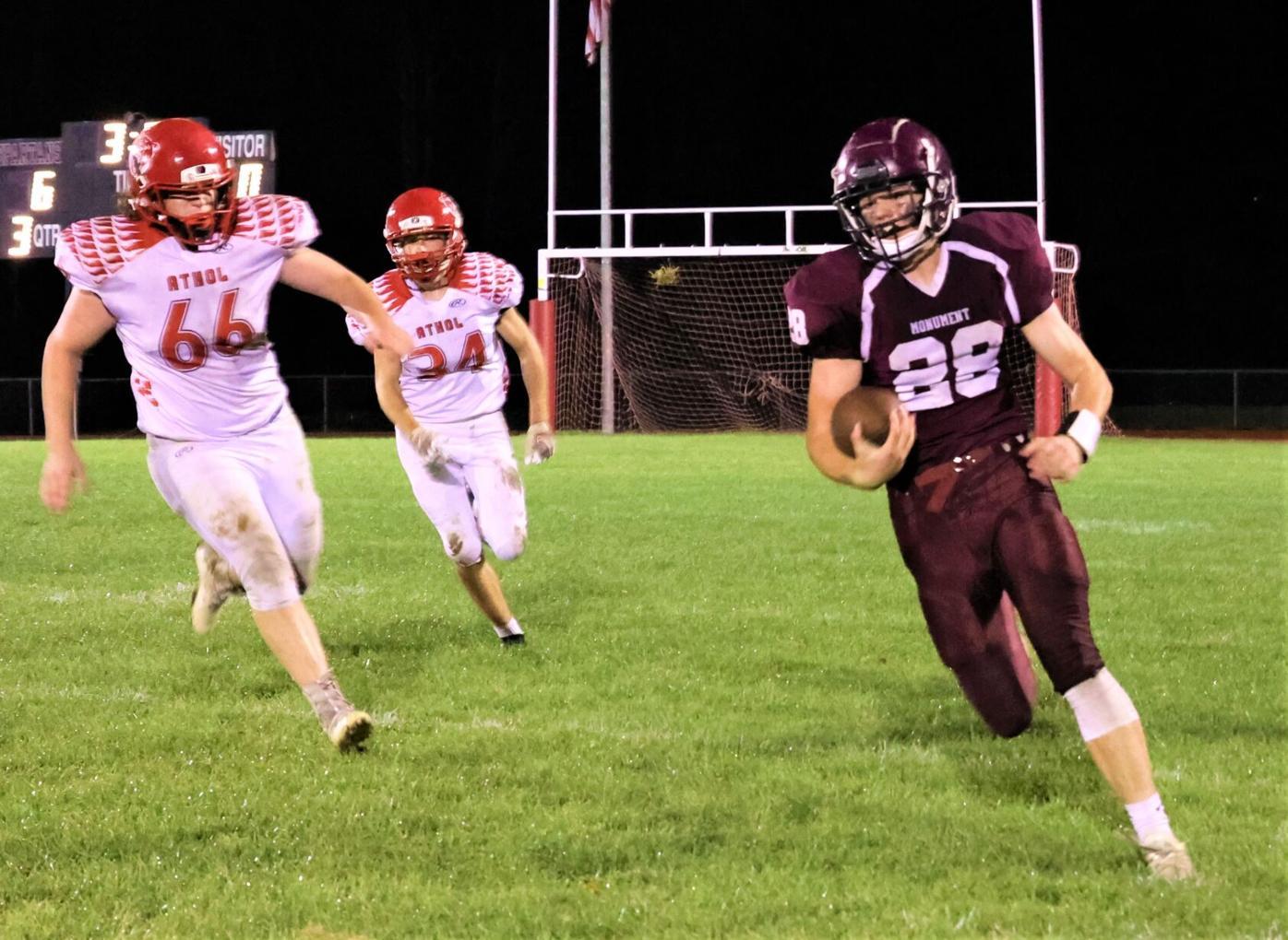 nick henderson runs the ball