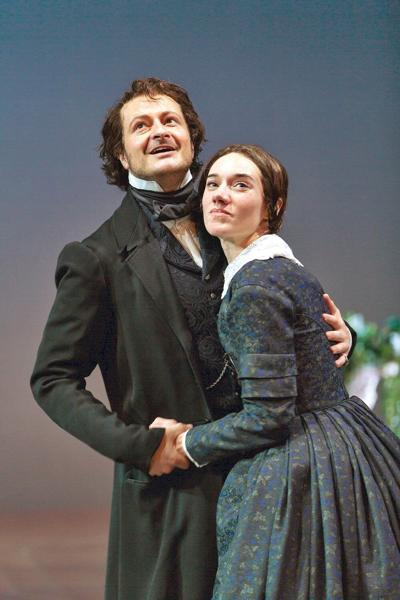 At Hartford Stage, Jane Eyre and Edward Rochester make for an odd couple, indeed