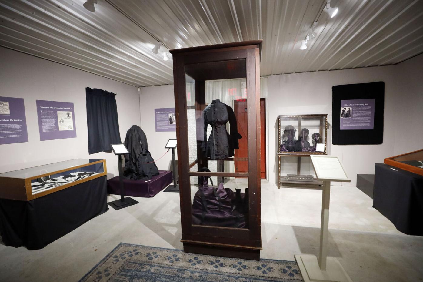 mourning exhibit at Arrowhead
