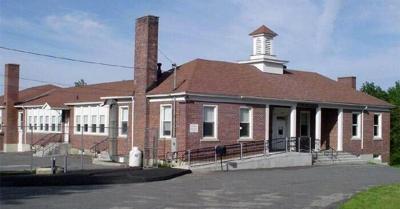 The outside of Abbott Memorial School