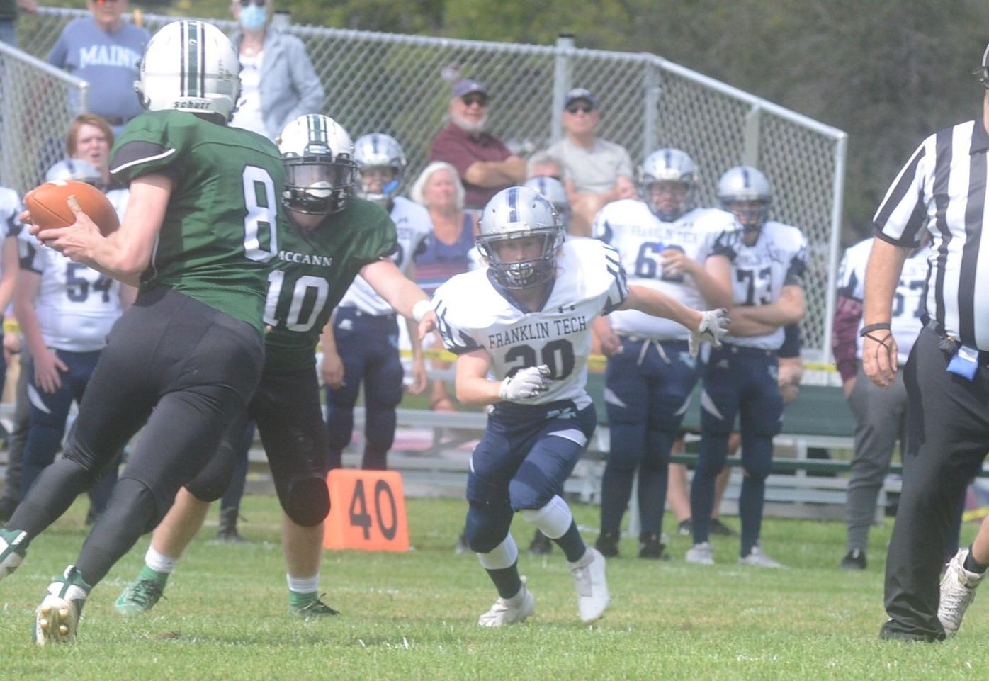 Franklin's Josiah Little comes in to tackle